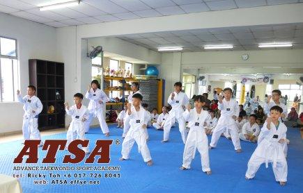 Batu Pahat Sports Ricky Toh Advance Taekwondo Sport Academy ATSA Education Martial Art Self Defence Fitness Poomdae Sparring Kyorugi Batu Pahat Johor Malaysia A02-14