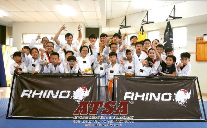 Batu Pahat Sports Ricky Toh Advance Taekwondo Sport Academy ATSA Education Martial Art Self Defence Fitness Poomdae Sparring Kyorugi Johor Malaysia A01-01