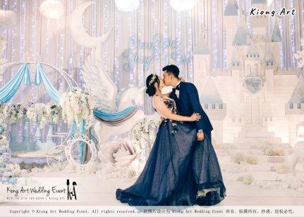 Kiong Art Wedding Event Kuala Lumpur Malaysia Wedding Decoration One-stop Wedding Planning Wedding Theme Fantasy Castle In The Snow Grand Sea View Restaurant A06-A01-52