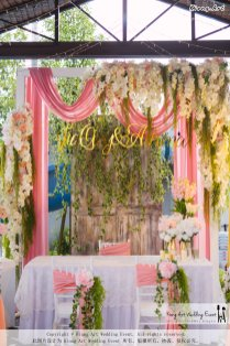 Kiong Art Wedding Event Kuala Lumpur Malaysia Wedding Decoration One-stop Wedding Planning Wedding Theme Romantic Garden Wedding Kluang Container Swimming Pool Homestay A05-A01-003