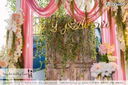 Kiong Art Wedding Event Kuala Lumpur Malaysia Wedding Decoration One-stop Wedding Planning Wedding Theme Romantic Garden Wedding Kluang Container Swimming Pool Homestay A05-A01-012