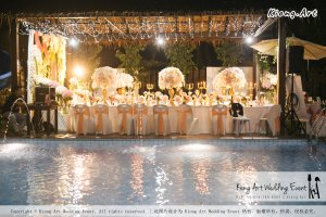 Kiong Art Wedding Event Kuala Lumpur Malaysia Wedding Decoration One-stop Wedding Planning Wedding Theme Romantic Garden Wedding Kluang Container Swimming Pool Homestay A05-A01-070