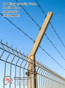 BP Wijaya Trading Sdn Bhd Malaysia Pahang Kuantan Temerloh Mentakab Manufacturer of Safety Fences Building Materials for Housing Construction Site Industial Security Fencing Factory A01-36