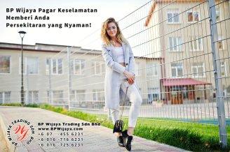 BP Wijaya Trading Sdn Bhd Malaysia Pahang Kuantan Temerloh Mentakab Pengeluar Pagar Keselamatan Pagar Taman Bangunan dan Kilang dan Rumah untuk Bandar Pemborong Pagar A01-83