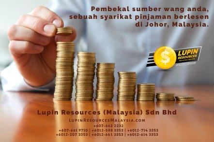 Johor Syarikat Pinjaman Berlesen Lupin Resources Malaysia SDN BHD Pembekal Sumber Wang Anda Kulai Johor Bahru Johor Malaysia Pinjaman Perniagaan Pinjaman Peribadi A01-26