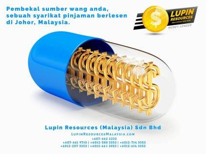 Johor Syarikat Pinjaman Berlesen Lupin Resources Malaysia SDN BHD Pembekal Sumber Wang Anda Kulai Johor Bahru Johor Malaysia Pinjaman Perniagaan Pinjaman Peribadi A01-37