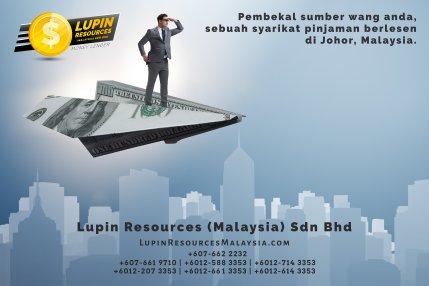 Johor Syarikat Pinjaman Berlesen Lupin Resources Malaysia SDN BHD Pembekal Sumber Wang Anda Kulai Johor Bahru Johor Malaysia Pinjaman Perniagaan Pinjaman Peribadi A01-74