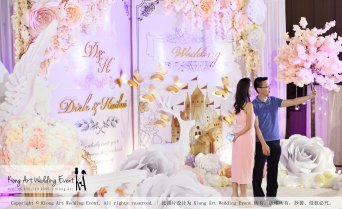 Kiong Art Wedding Event Kuala Lumpur Malaysia Wedding Decoration One-stop Wedding Planning Legend of Fairy Tales Grand Sea View Restaurant 海景宴宾楼 A08-A01-31