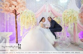 Kiong Art Wedding Event Kuala Lumpur Malaysia Wedding Decoration One-stop Wedding Planning Legend of Fairy Tales Grand Sea View Restaurant 海景宴宾楼 A08-A01-43