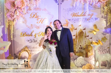 Kiong Art Wedding Event Kuala Lumpur Malaysia Wedding Decoration One-stop Wedding Planning Legend of Fairy Tales Grand Sea View Restaurant 海景宴宾楼 A08-A01-64