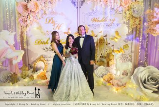 Kiong Art Wedding Event Kuala Lumpur Malaysia Wedding Decoration One-stop Wedding Planning Legend of Fairy Tales Grand Sea View Restaurant 海景宴宾楼 A08-A01-77