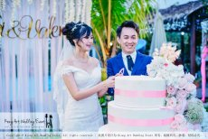 Kiong Art Wedding Event Kuala Lumpur Malaysia Wedding Decoration One-stop Wedding Planning Warm Outdoor Romantic Style Theme Kluang Container Swimming Pool Homestay A07-A01-43