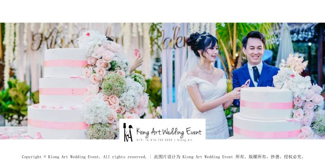 Kiong Art Wedding Event Kuala Lumpur Malaysia Wedding Decoration One-stop Wedding Planning Warm Outdoor Romantic Style Theme Kluang Container Swimming Pool Homestay A07-B00-03