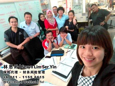 林思吟 Seryn Lim Ser Yin 马来西亚柔佛 保险代理 寿险服务 财务规划 与 财务风险管理 峇株巴辖-新山-士古来-士乃-麻坡-居銮-昔加末-丰盛港 A001-20