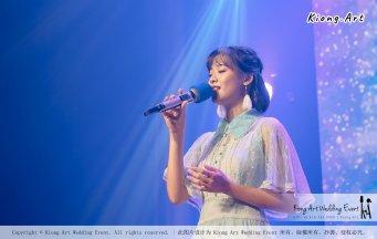 陈永馨于朋友婚礼上献唱-陈永馨-中国好声音-马来西亚婚礼布置 007