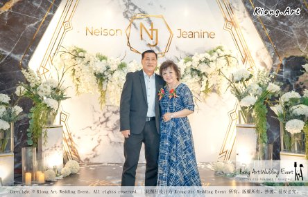 Malaysia Kuala Lumpur Wedding Event Kiong Art Wedding Deco Decoration One-stop Wedding Planning of Nelson and Jeanine Wedding at Grand Sea View Restaurant A11-A05-05
