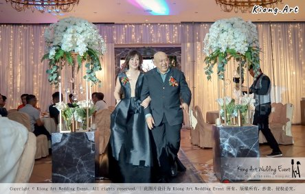 Malaysia Kuala Lumpur Wedding Event Kiong Art Wedding Deco Decoration One-stop Wedding Planning of Nelson and Jeanine Wedding 陈永馨 中国好声音 A11-A02-28