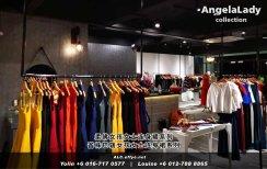 柔佛峇株巴辖 女孩女士连身裙 Angela Lady Collection 女士晚装 长裙 晚礼服 晚礼服裙 潮流精品 时尚饰品 女士服装衣服 牛仔裤 裙子 裤子 马来西亚 A01-015