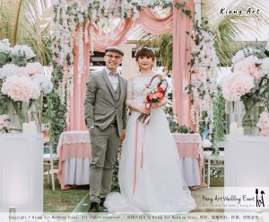 Malaysia Kuala Lumpur Wedding Decoration Kiong Art Wedding Deco Eternal Registration of Marriage Ceremony Open-air Party of Jack and Fish ROM at Kluang Container Hotel A14-A01-071
