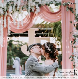 Malaysia Kuala Lumpur Wedding Decoration Kiong Art Wedding Deco Eternal Registration of Marriage Ceremony Open-air Party of Jack and Fish ROM at Kluang Container Hotel A14-A01-173
