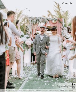 Malaysia Kuala Lumpur Wedding Decoration Kiong Art Wedding Deco Eternal Registration of Marriage Ceremony Open-air Party of Jack and Fish ROM at Kluang Container Hotel A14-A01-194