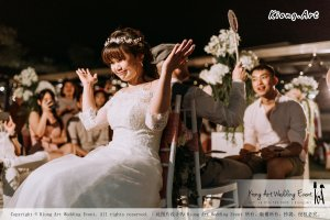 Malaysia Kuala Lumpur Wedding Decoration Kiong Art Wedding Deco Eternal Registration of Marriage Ceremony Open-air Party of Jack and Fish ROM at Kluang Container Hotel A14-A01-244