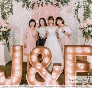 Malaysia Kuala Lumpur Wedding Decoration Kiong Art Wedding Deco Eternal Registration of Marriage Ceremony Open-air Party of Jack and Fish ROM at Kluang Container Hotel A14-A01-261