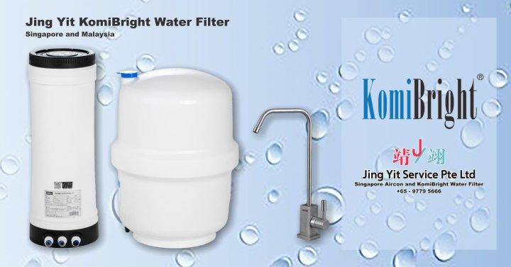 Jing Yit KomiBright Water Filter Singapore Reverse Osmosis Water Purifier Singapore Water Filter Malaysia Komi Bright Water Filter Package A00-01