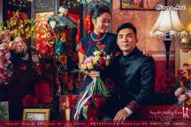 Kuala Lumpur Wedding Deco Decoration Kiong Art Wedding Deco Old Shanghai Style Wedding 旧上海风情婚礼 Steven and Tze Hui at Golden Dragonboat Restaurant 金龙船鱼翅海鲜酒家 Malaysia A16-A01-028