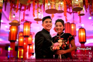 Kuala Lumpur Wedding Deco Decoration Kiong Art Wedding Deco Old Shanghai Style Wedding 旧上海风情婚礼 Steven and Tze Hui at Golden Dragonboat Restaurant 金龙船鱼翅海鲜酒家 Malaysia A16-A01-031