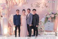 Malaysia Wed Kuala Lumpur Wedding Deco Decoration Kiong Art Wedding Deco Warm and Happy Wedding Theme Chia Hao and Wei Xin Sin Yang Restaurant Batu Pahat A15-A01-011