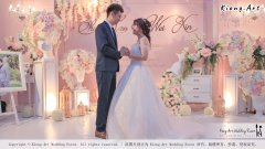 Malaysia Wed Kuala Lumpur Wedding Deco Decoration Kiong Art Wedding Deco Warm and Happy Wedding Theme Chia Hao and Wei Xin Sin Yang Restaurant Batu Pahat A15-A01-024