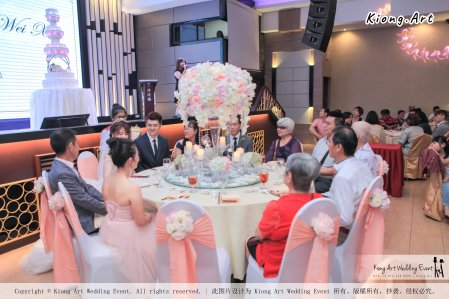 Malaysia Wed Kuala Lumpur Wedding Deco Decoration Kiong Art Wedding Deco Warm and Happy Wedding Theme Chia Hao and Wei Xin Sin Yang Restaurant Batu Pahat A15-A01-038