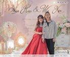 Malaysia Wed Kuala Lumpur Wedding Deco Decoration Kiong Art Wedding Deco Warm and Happy Wedding Theme Chia Hao and Wei Xin Sin Yang Restaurant Batu Pahat A15-A01-052