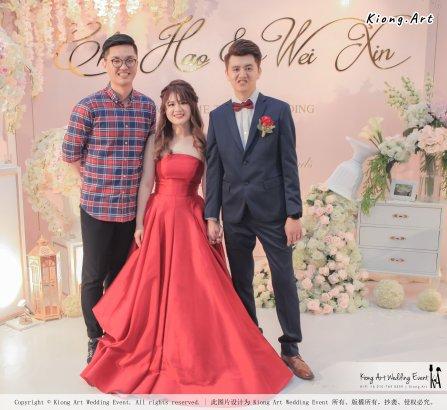 Malaysia Wed Kuala Lumpur Wedding Deco Decoration Kiong Art Wedding Deco Warm and Happy Wedding Theme Chia Hao and Wei Xin Sin Yang Restaurant Batu Pahat A15-A01-053