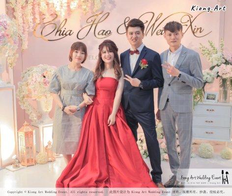 Malaysia Wed Kuala Lumpur Wedding Deco Decoration Kiong Art Wedding Deco Warm and Happy Wedding Theme Chia Hao and Wei Xin Sin Yang Restaurant Batu Pahat A15-A01-058