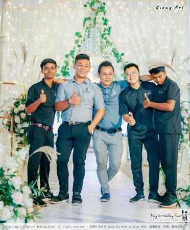 Kuala Lumpur Wedding Event Deco Wedding Planner Kiong Art Wedding Event 吉隆坡一站式婚礼策划布置 Klang Commercial Convention Centre KCCC 巴生皇城商务会展中心 F01-002