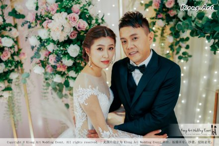 Kuala Lumpur Wedding Event Deco Wedding Planner Kiong Art Wedding Event 吉隆坡一站式婚礼策划布置 Klang Commercial Convention Centre KCCC 巴生皇城商务会展中心 F01-003