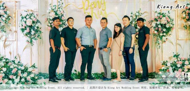 Kuala Lumpur Wedding Event Deco Wedding Planner Kiong Art Wedding Event 吉隆坡一站式婚礼策划布置 Klang Commercial Convention Centre KCCC 巴生皇城商务会展中心 C01-011