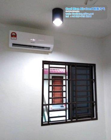 Cool Man Air-Cond Batu Pahat Air Cond Service Air-Cond Installation Air Conditioning 酷酷冷气 冷气维修服务 冷器安装 峇株巴辖 冷气服务 A03