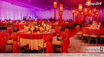 Kuala Lumpur Wedding Event Deco Wedding Planner Kiong Art Wedding Event 吉隆坡一站式婚礼策划布置 Klang WK Banquet Hall Oriental Traditional Culture Wedding 东方传统文化婚礼 A01-015