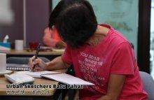 Urban Sketchers Batu Pahat 峇株吧辖 都市写生 A016