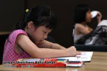 Urban Sketchers Batu Pahat 峇株吧辖 都市写生 B010
