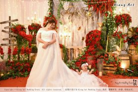Kuala Lumpur Wedding Event Deco Wedding Planner Kiong Art Wedding Event 吉隆坡一站式婚礼策划布置 Grand Sea View Restaurant European and American Pastoral Style 欧美田园风格 A01-008