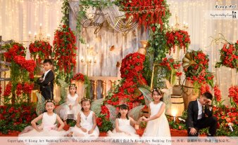Kuala Lumpur Wedding Event Deco Wedding Planner Kiong Art Wedding Event 吉隆坡一站式婚礼策划布置 Grand Sea View Restaurant European and American Pastoral Style 欧美田园风格 A01-039