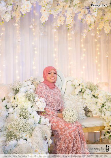Kuala Lumpur Wedding Event Deco Wedding Planner Kiong Art Wedding Event Malay Wedding Theme Tema Perkahwinan Melayu A01-081