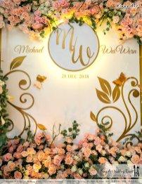 Malaysia Selangor Klang Kuala Lumpur Wedding Event Deco Wedding Planner Kiong Art Wedding Event 马来西亚 雪兰莪 巴生 雪隆区 吉隆坡一站式婚礼策划布置 A Gargen Story 温馨花园故事 A01-026