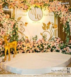 Malaysia Selangor Klang Kuala Lumpur Wedding Event Deco Wedding Planner Kiong Art Wedding Event 马来西亚 雪兰莪 巴生 雪隆区 吉隆坡一站式婚礼策划布置 A Gargen Story 温馨花园故事 A01-027