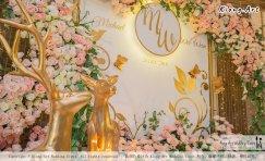 Malaysia Selangor Klang Kuala Lumpur Wedding Event Deco Wedding Planner Kiong Art Wedding Event 马来西亚 雪兰莪 巴生 雪隆区 吉隆坡一站式婚礼策划布置 A Gargen Story 温馨花园故事 A01-044