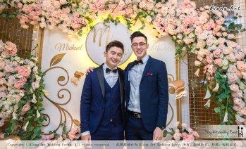 Malaysia Selangor Klang Kuala Lumpur Wedding Event Deco Wedding Planner Kiong Art Wedding Event 马来西亚 雪兰莪 巴生 雪隆区 吉隆坡一站式婚礼策划布置 A Gargen Story 温馨花园故事 B01-012